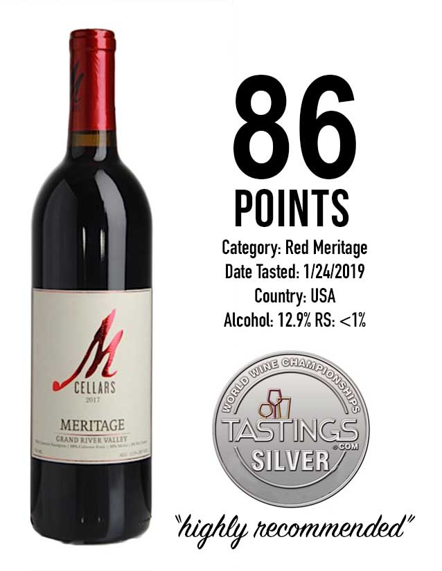 tastings award | 86 points