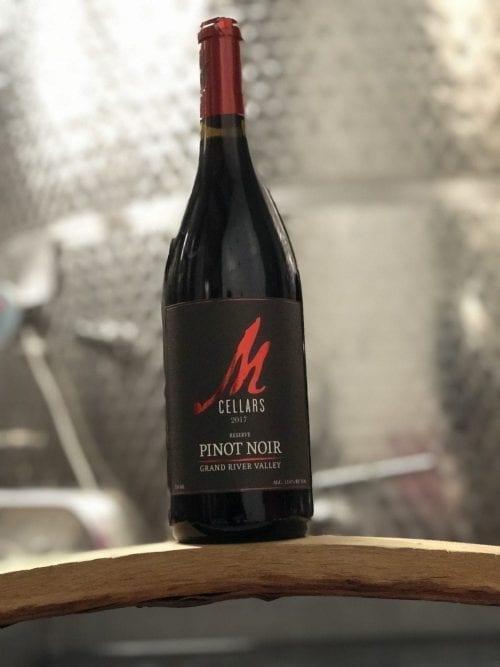 M-Cellars-2017-Pinot noir Reserve